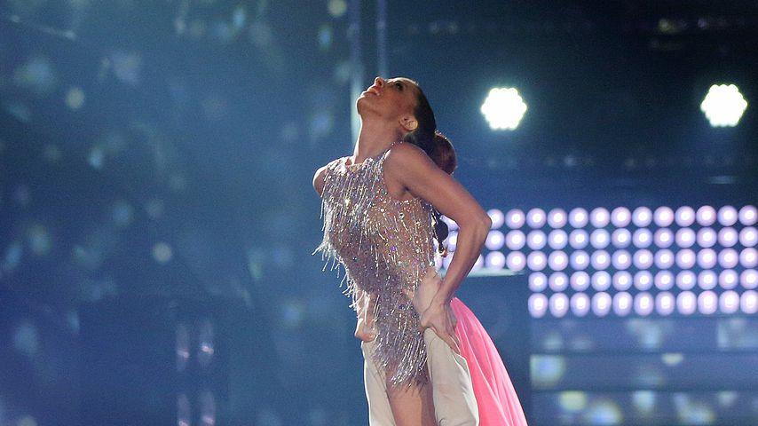 """Christian Polanc und Vanessa Mai mit ihrem Freestyle bei """"Let's Dance""""-Show neun"""