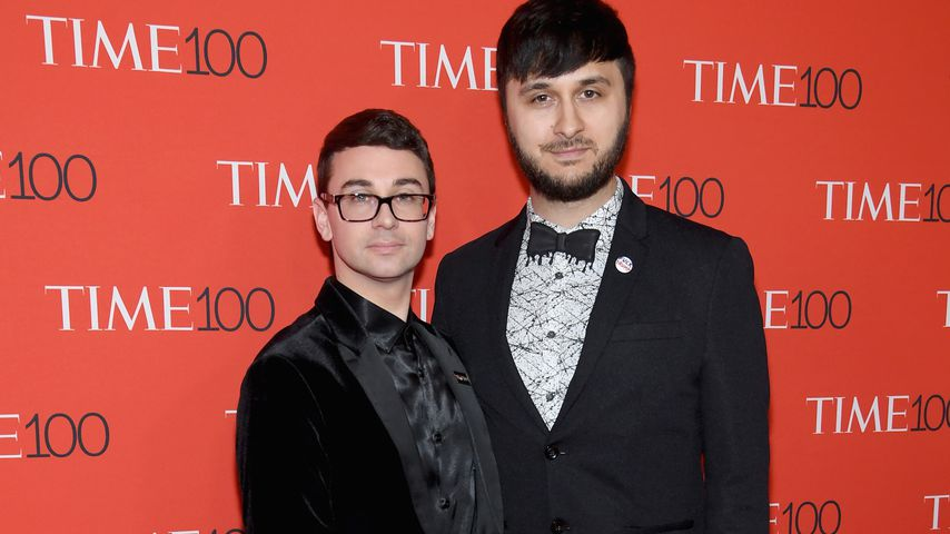 Christian Siriano und Brad Walsh, 2018