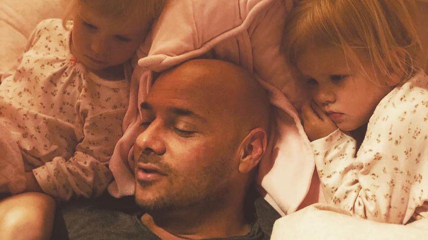 Christian Tews und seine Töchter