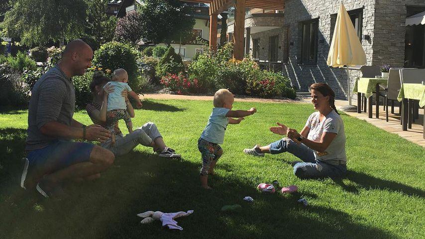 Christian Tews mit seiner Familie