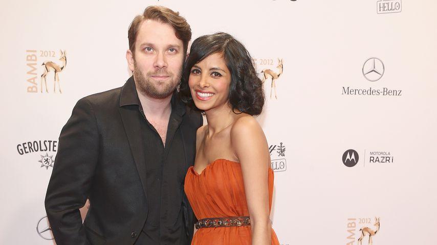 Christian Ulmen und seine Frau Collien Ulmen-Fernandes im November 2012