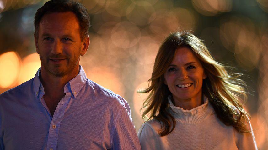 Christian und Geri Horner im März 2019