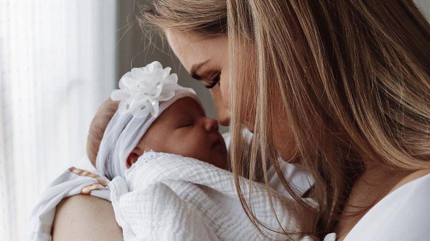 Christin Kaeber und ihre Tochter