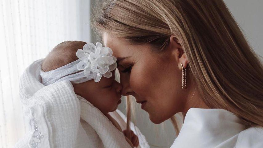 Christin Kaeber und ihre Tochter Nia