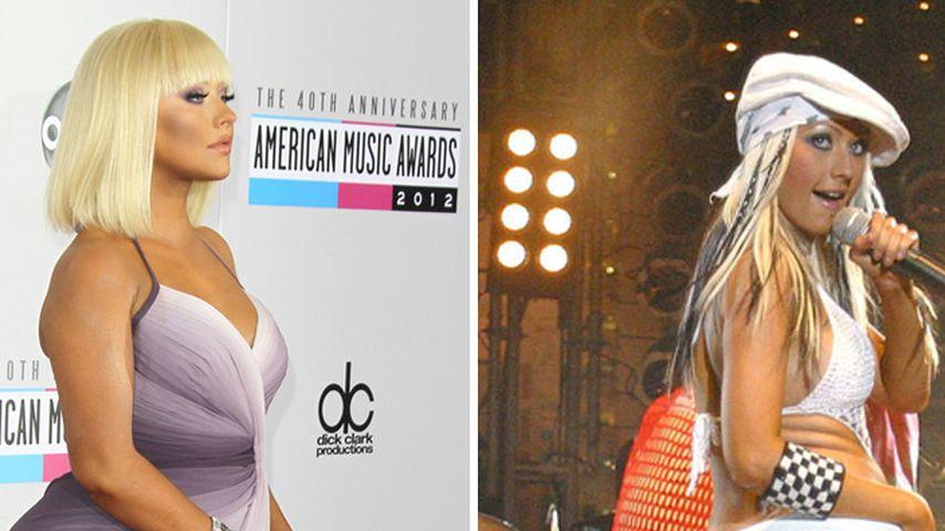 Christina Aguileras Po-Vergleich! Damals und heute