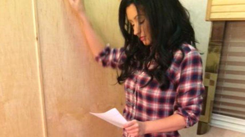 Krasser Wandel: Christina Aguilera schwarzhaarig!
