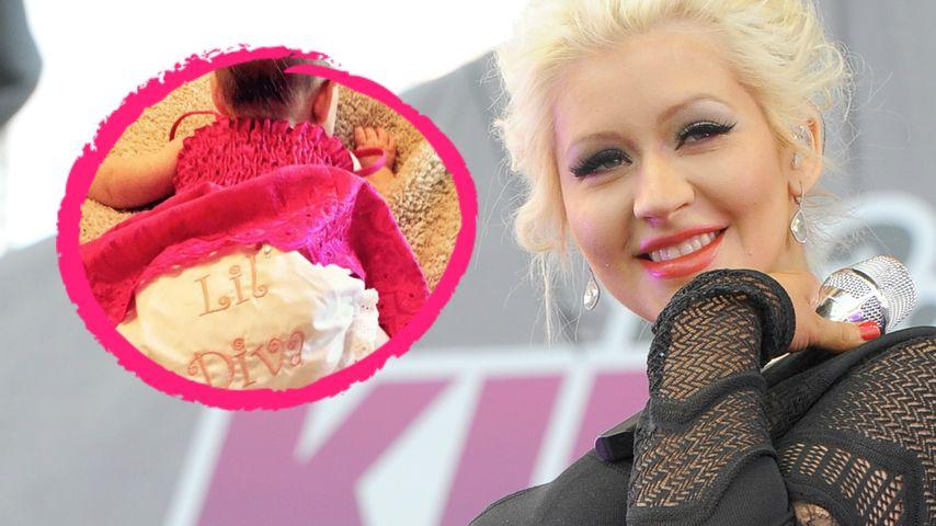 """Endlich! Christina Aguilera zeigt ihre """"Lil' Diva"""""""