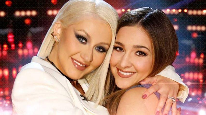 Christina Aguilera und Alisan Porter