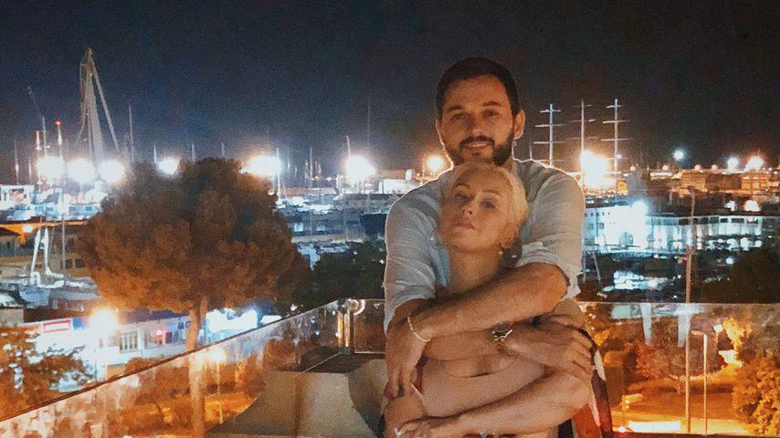 Seltener Anblick: Xtina turtelt mit Langzeit-Lover im Urlaub