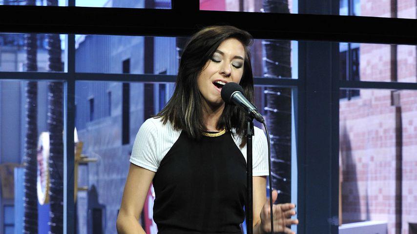 Christina Grimmie bei einem Auftritt in Los Angeles