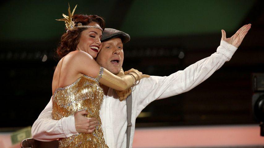 """Christina Luft und Oliver Pocher während der dritten """"Let's Dance""""-Show"""