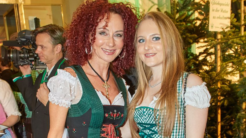 Christina und Jacqueline Lugner im Januar 2018