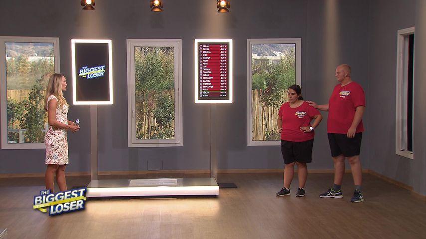 """Christine Theiss und die """"Biggest Loser""""-Kandidaten Tülay und Joell"""