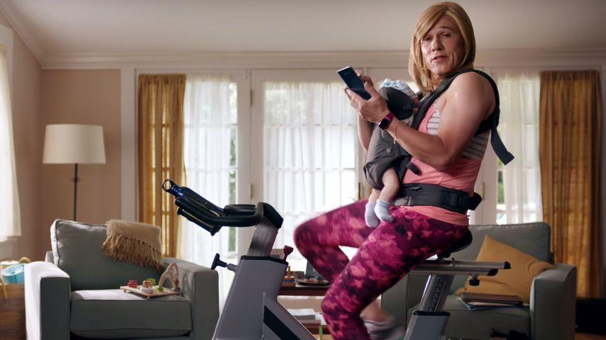Christoph Waltz in einer Szene aus dem Werbespot für das Samsung Galaxy Note7