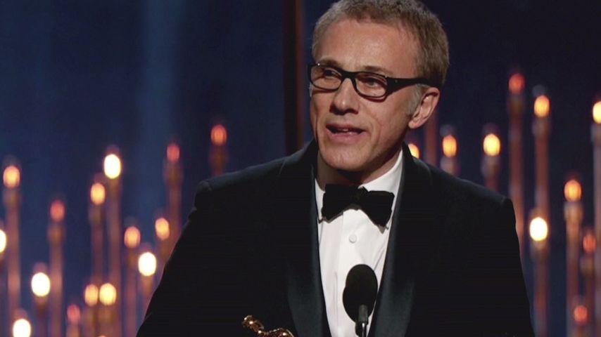 Oscar 2013: Christoph Waltz räumt wieder ab!