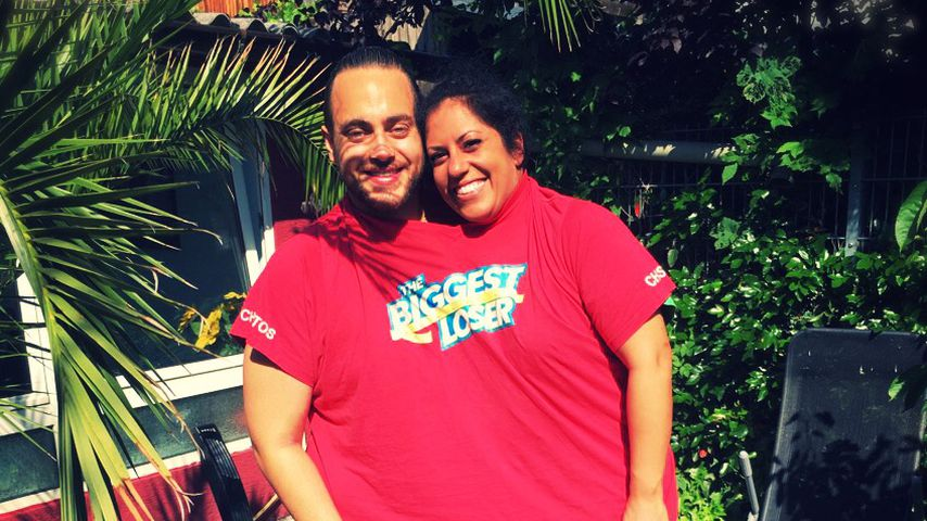 """The Biggest Loser"": Shirin & Christos passen in ein Shirt"