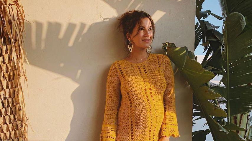 Mit Babybauch: Schwangere GZSZ-Chryssanthi strahlt im Urlaub
