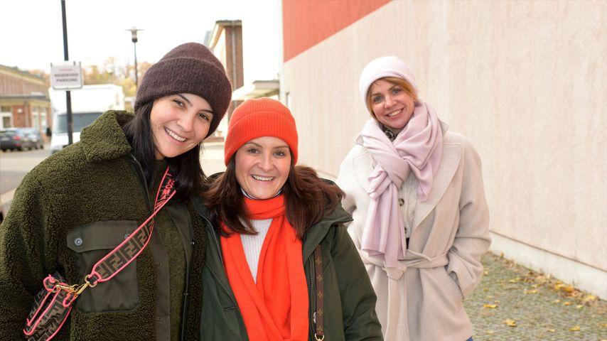 Chryssanthi Kavazi, ihre Schwester Elisabeth und Gisa Zach