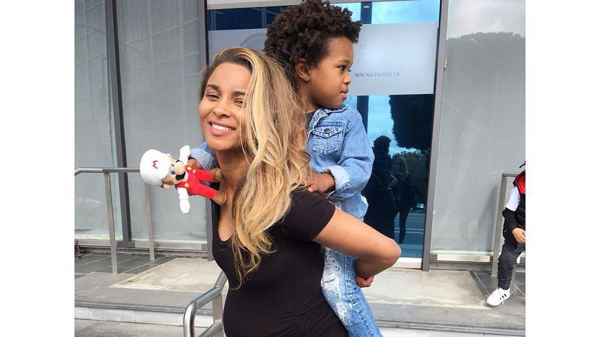 Happy Family: Ciara ist 'ne Super-Mama – mit XXL-Babykugel!