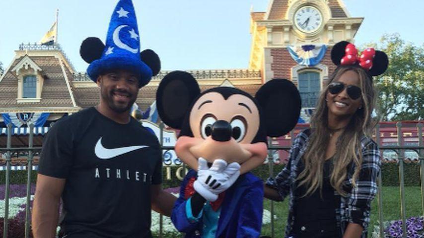 Süßer Disneyland-Ausflug: Ciara unterwegs mit ihren Jungs