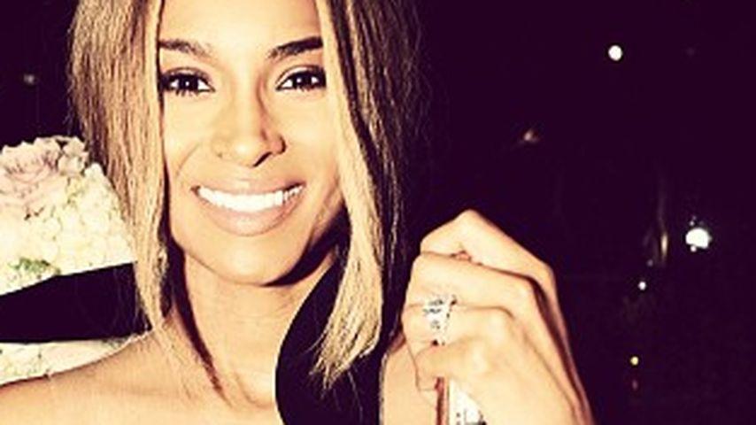 Wow! Ciara zeigt ihren gigantischen Verlobungsring
