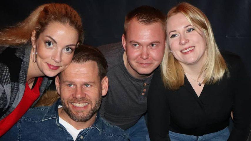 """Cindy, Alex, David und Nicole aus """"Hochzeit auf den ersten Blick"""", 2019"""