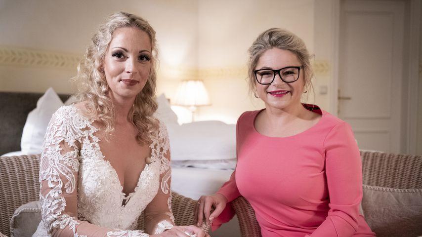 """Cindy und Dr. Sandra Köhldorfer bei """"Hochzeit auf den ersten Blick"""", 2019"""