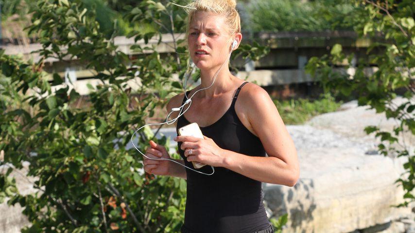 Sportskanone: Claire Danes geht jeden Tag um 4:30 Uhr joggen