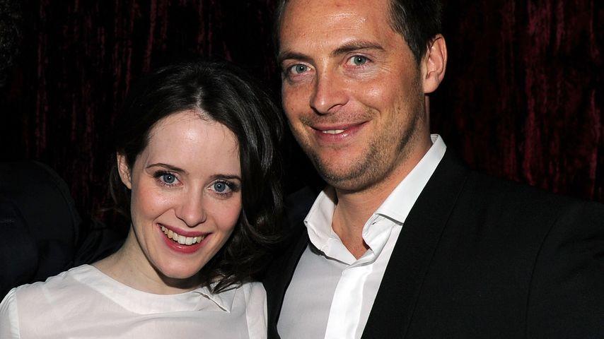 Claire Foy und ihr Mann Stephen Campbell Moore