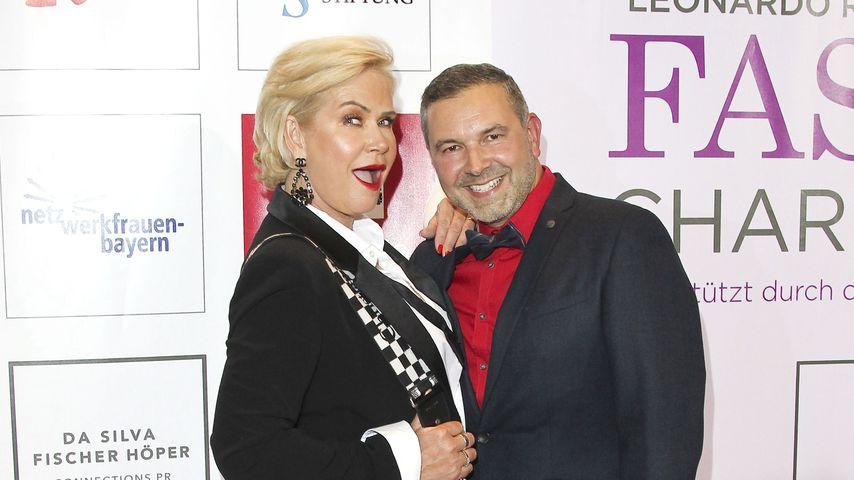 Claudia Effenberg und Pedro da Silva beim Fashion Charity Dinner 2019