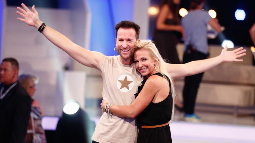 Claudia Norberg und Michael Wendler, August 2014