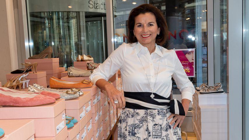 Claudia Obert im April 2020 in Hamburg