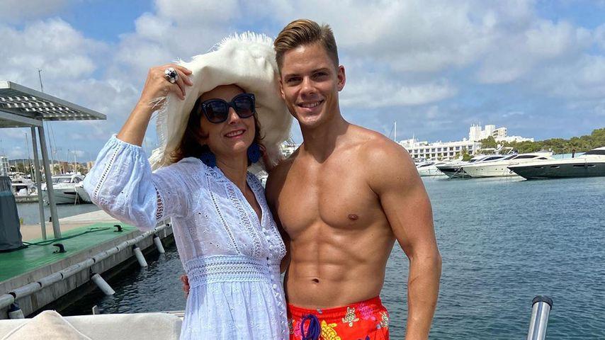 Claudia Obert und Cedric Beidinger im Juni 2020