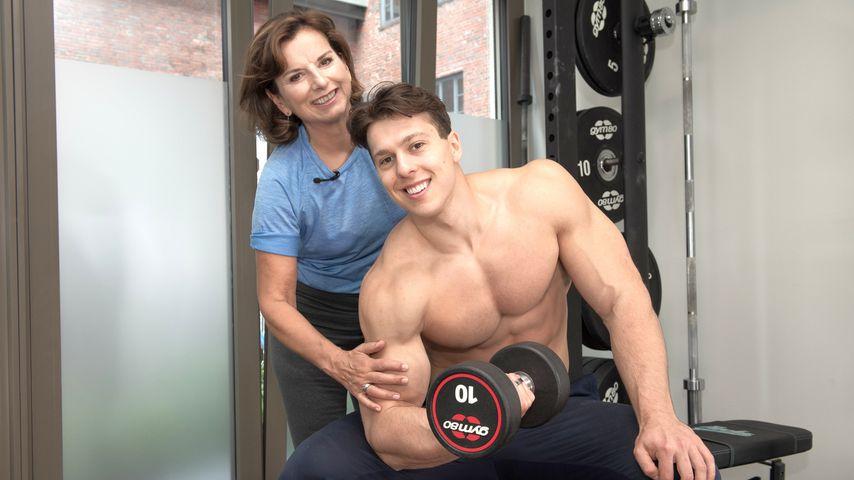 Claudia Obert und Fitness-Influencer Paul Unterleitner