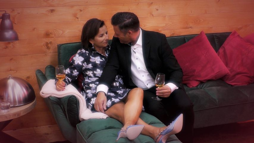 """Claudia Obert und Kandidat Torsten in Folge eins von """"Claudias House of Love"""""""