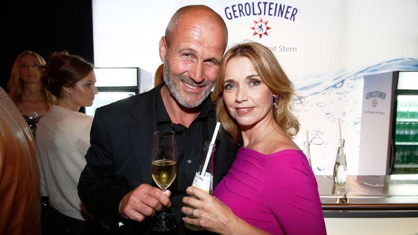 Claus G. Öldorp und Tina Ruland im Oktober 2013