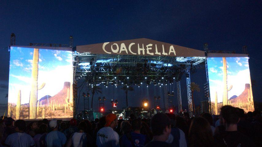 Coachella-Bühne im Jahr 2002