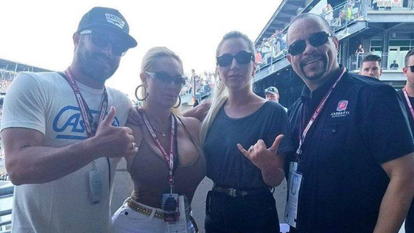 Lady GaGa, Coco, Taylor Kinney und Ice-T