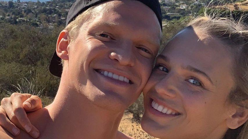 Cody Simpson und Marloes Stevens im Januar 2021