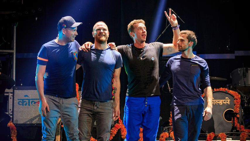 Coldplay beim iHeartRadio Music Festival 2015