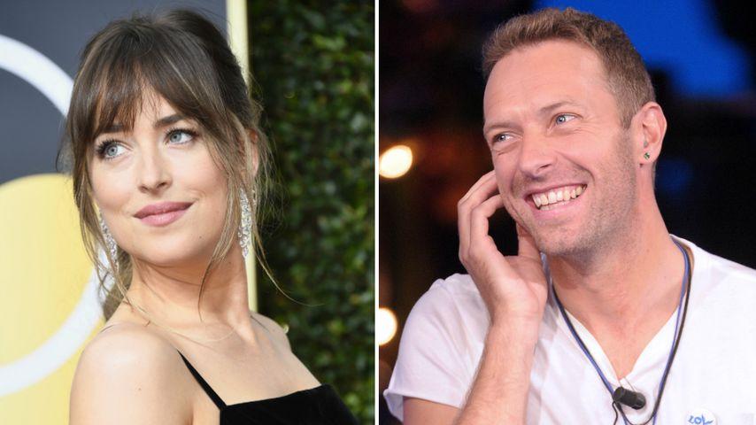 Coldplay genervt: Dakota und Chris hängen nur aufeinander!
