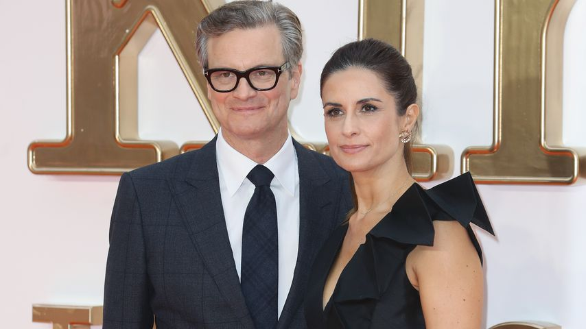 "Colin Firth und Livia Giuggioli bei der ""Kingsman: The Golden Circle""-Premiere in London"
