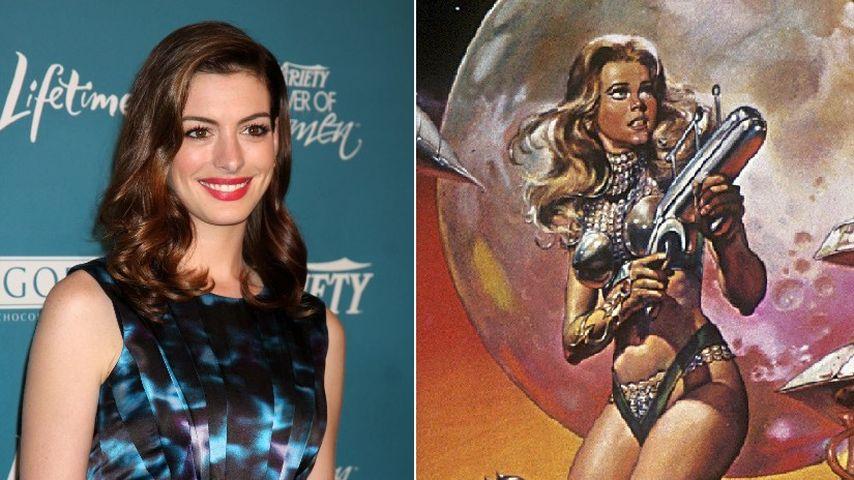 Anne Hathaway bald als sexy Barbarella?