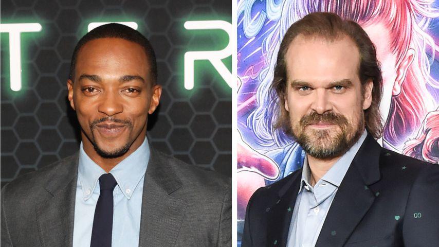 """Marvel-Stars Mackie und Harbour drehen """"We Have A Ghost"""""""