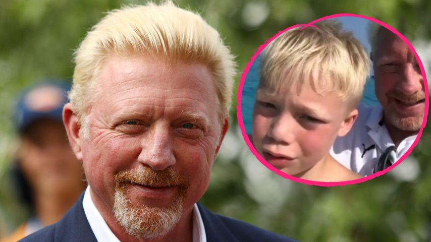 Vater-Sohn-Zeit: Boris Becker urlaubt mit Amadeus auf Ibiza