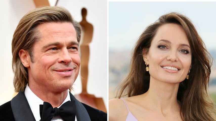 Das erste Mal seit Trennung: Brad besucht Angelina zu Hause!