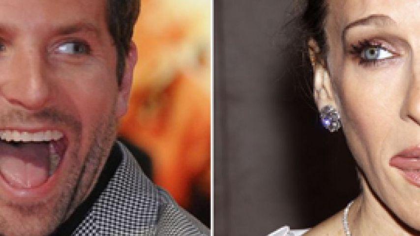 """Bradley Cooper weiß: """"Keine Zunge bei SJP!"""""""