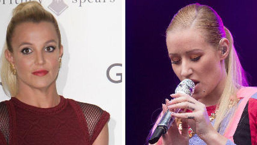 Britney Spears & Iggy Azalea musizieren zusammen