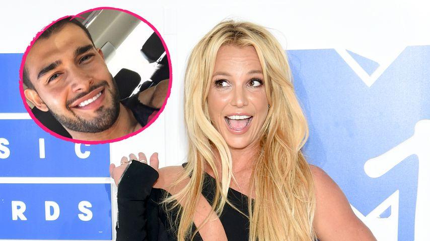 Verknallt? Britney Spears feiert Xmas mit Fitness-Hottie Sam