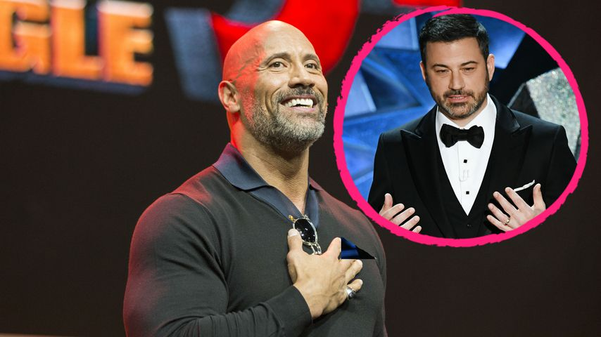 Rollentausch: Dwayne Johnson will Jimmy Kimmel im Kreißsaal!
